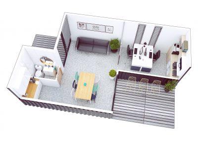 F30 Office - Rzut